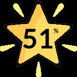 BQ Star 51% off
