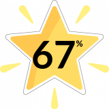 BQ Star Yellow 67%